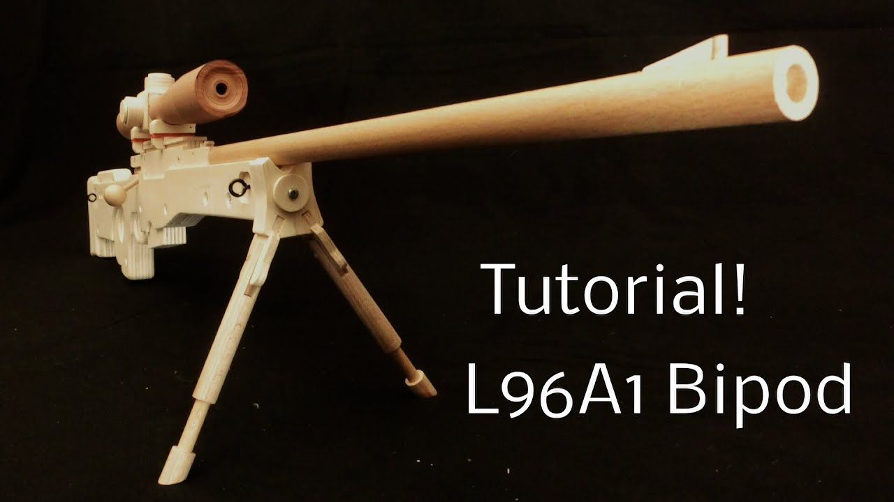 how to make a rubber band gun with your hand