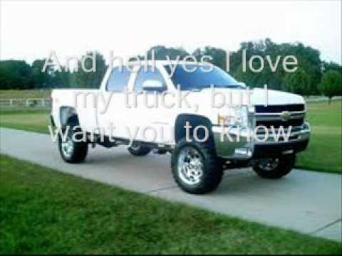 Love your love the most - Eric Church with lyrics on screen