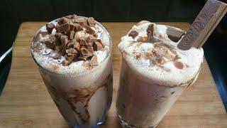 Chocolate milk shake and kitkat chocolate milk shake !! जो है बहोत ही आसान घर पर बनाना