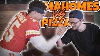 YOBOY PIZZA vs PATRICK MAHOMES 1VS1!!