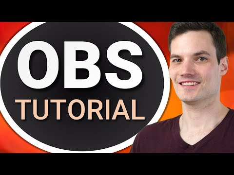 ? How to use OBS for Screen Recording or Streaming - Beginner Tutorial