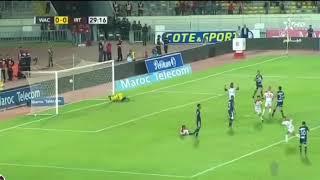 أهداف مباراة الوداد البيضاوي ضد اتحاد طنجة 0-2 | كأس العرش WAC VS IRT