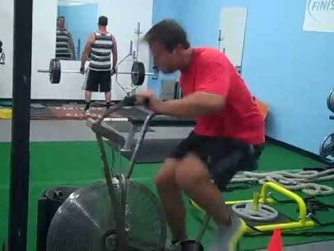 fan exercise bike. finisher fitness ~ jackey c - this is how the fan bike done!!! exercise x
