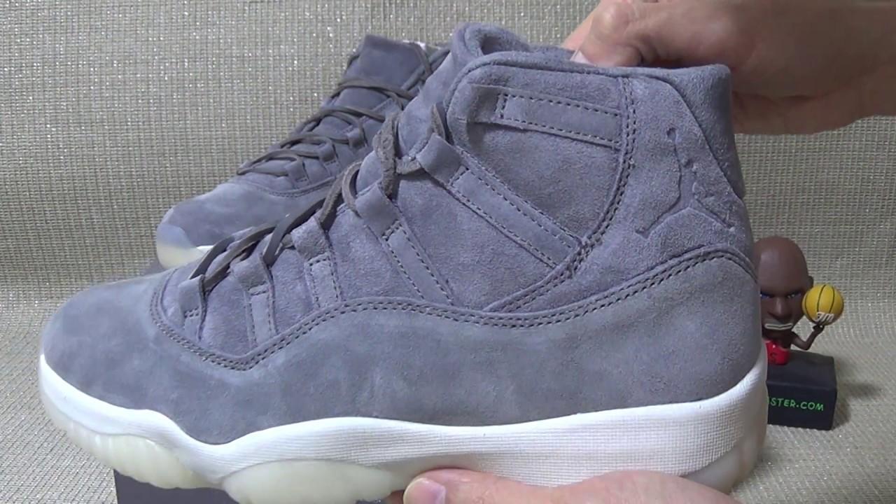 Authentic Air Jordan 11 Suede