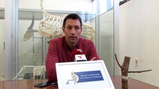 Video Natxo Lezkano no MUSEO ANATOMIA Facultad de Veterinaria del Campus Terra