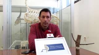 Video Natxo Lezkano no MUSEO ANATOMIA Facultad de Veterinaria del Campus Terra
