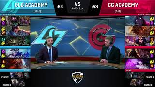 Video CLGA vs. CGA | Week 7 | NA Academy Summer Split | CLG Academy vs. Clutch Gaming Academy download MP3, 3GP, MP4, WEBM, AVI, FLV Agustus 2018