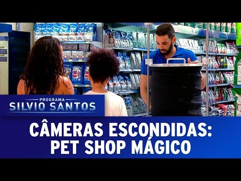 Pet Shop Mágico - Magic Pet Prank | Câmeras Escondidas (19/11/17)