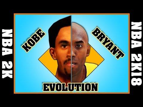 KOBE BRYANT evolution [NBA 2K - NBA 2K18]