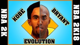 KOBE BRYANT evolution [NBA 2K - NBA 2K18]