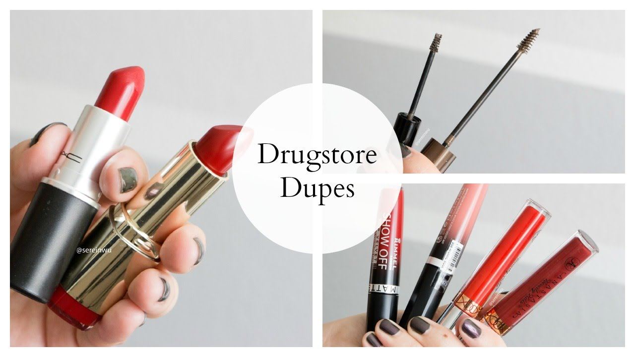 Drugstore Dupes For High-end Makeup | DressYourselfHappy ...