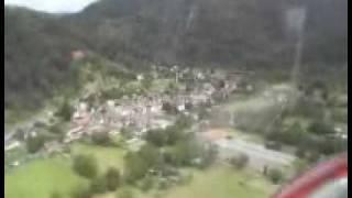 2007 Saint-Parthem, helicoptervlucht