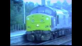 37/0s haul ScotRail services to Inverness 1994
