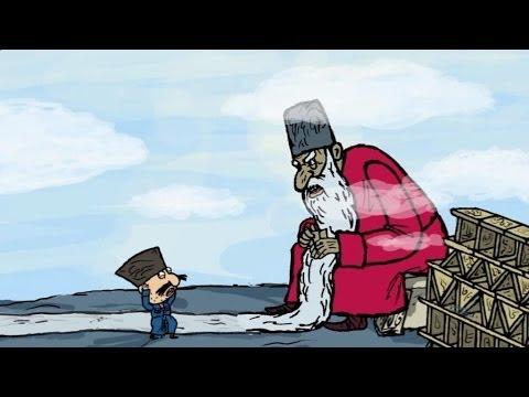 Советский мультфильм про лентяя