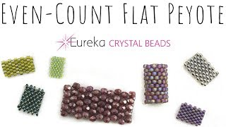 Even Count Flat Peyote - Learn the Basics with Leah!