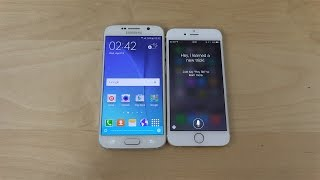 Samsung Galaxy S6 S Voice Meets iPhone 6 Siri!