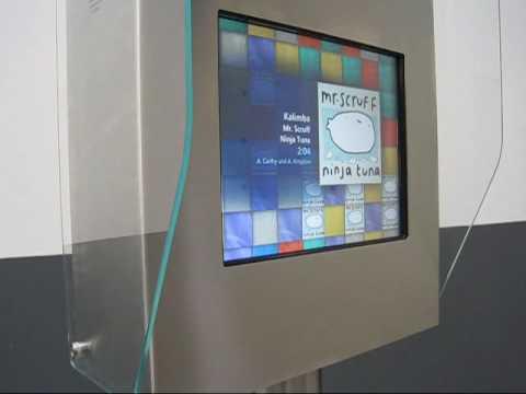 Multimedia kiosk Spin