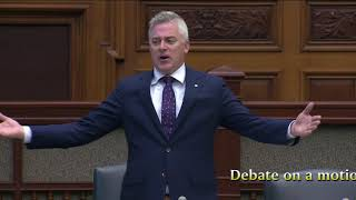 "Calling out the Liberals for undemocratic debate ""closure"" on  pot bill"