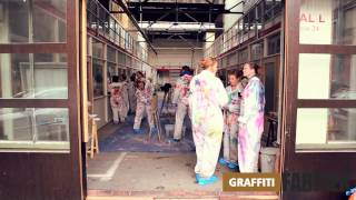 graffiti-fabriek - graffiti workshop bedrijfsuitje