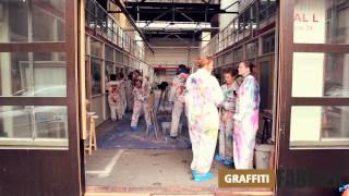 graffiti-fabriek - graffiti workshop bedrijfsuitje