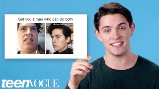 Riverdale's Casey Cott Reviews Riverdale Memes | Teen Vogue