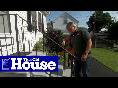 How To Repair A Rusted Wrought Iron Railing This Old House