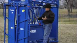 "The Ultimate Cattle Working Machine ""the Priefert Sc11 Squeeze Chute"""