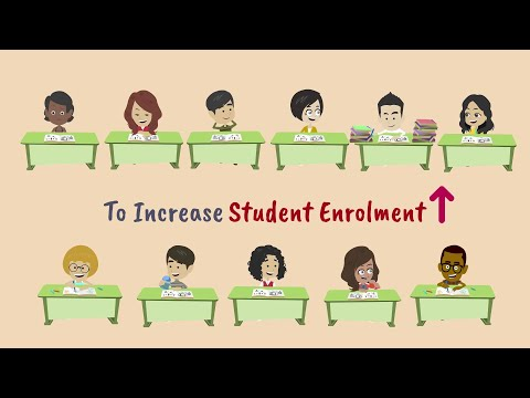 How to Increase student enrollment