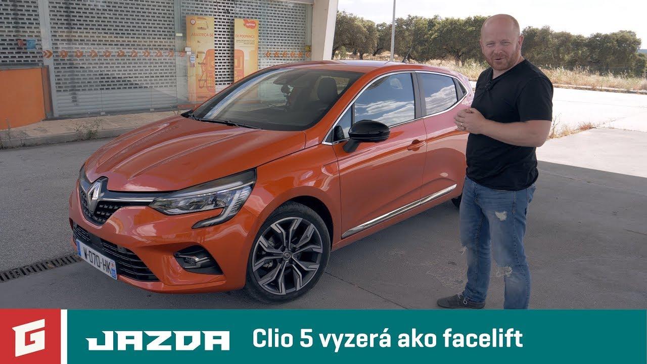 Renault Clio - Mk5 - 2019 - prvá jazda - GARAZ.TV - Rasťo Chvála - YouTube