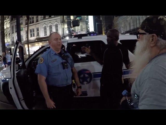 Demented drunk stalks preacher, Cops do nothing!