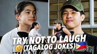 TAGALOG JOKES (Try Not To Laugh!!) | Ranz and Niana