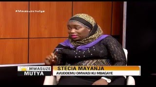 Mwasuze Mutya: Stecia Mayanja avuddemu omwasi ku mbaga ye