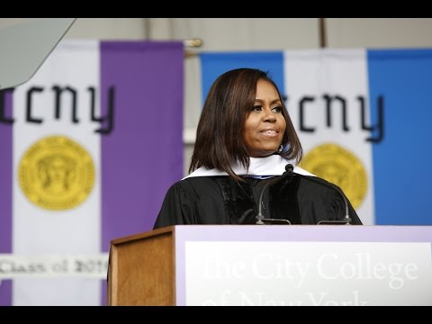 CCNY Commencement 2016: First Lady Michelle Obama, Speaker