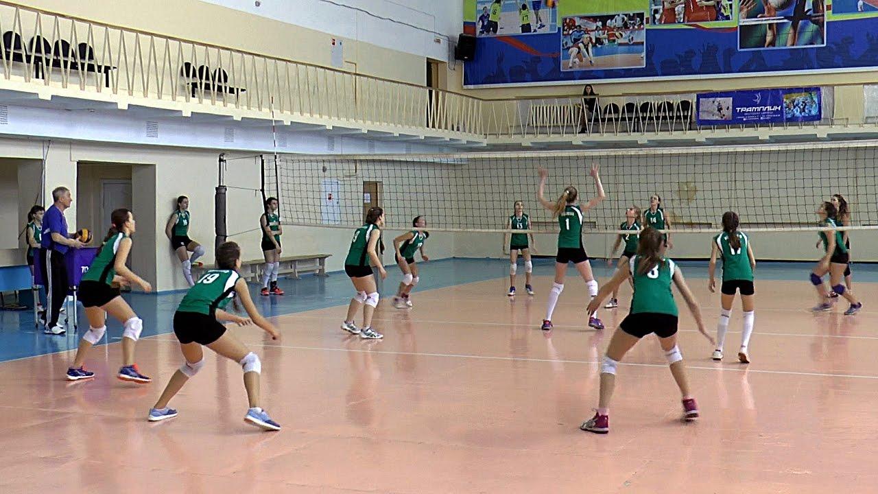 Волейбол обучение. Девушки. Тактика и позиции игроков. Тренировка. Часть 10
