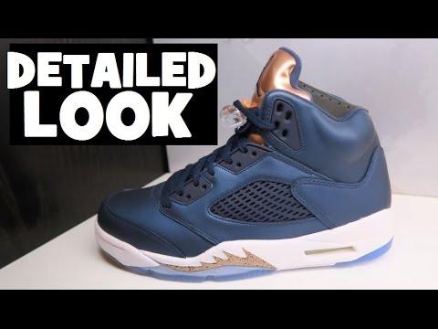 Air Jordan 5 Bronze Retro Sneaker