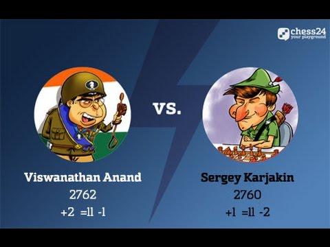 Anand - Karjakin, Candidates Chess, Round 11: Analysis