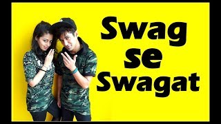 Swag Se Swagat dance choreography | Tiger Zinda Hai | vicky & aakanksha