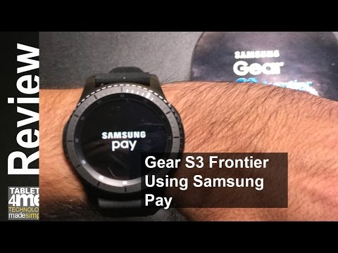 Samsung Gear S3 Frontier: Everything you need to know about using Samsung Pay