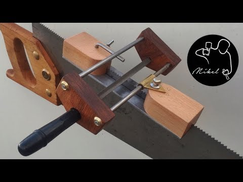 Filer Guide for Hand-Saws, How to make