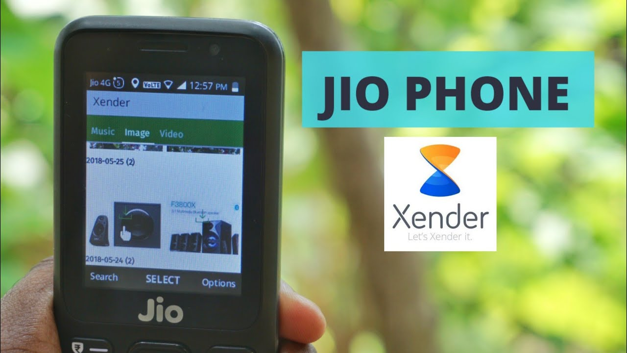 How To Use Xender in JioPhone - Send or Share Files To JioPhone | Xender  App New Feature