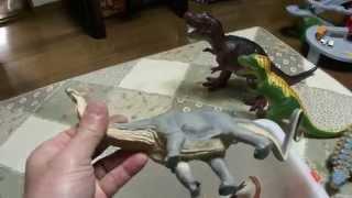 リサイクルショップ探訪 恐竜のフィギュア