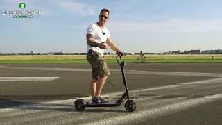 Egret Eight Testdrive, Eroller, Escooter, Elektroroller, Anleitung, Tutorial, Review, (DEU,GER)