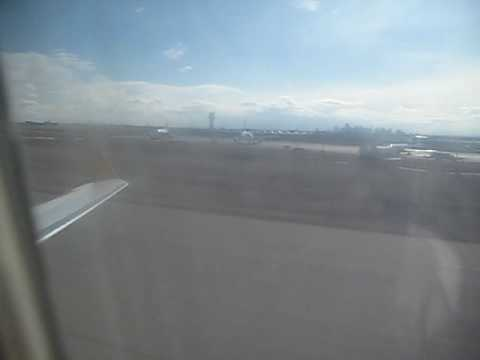 Air Canada Jazz CRJ takes off from Calgary International Airport (YYC) TO Vancouver Airport (YVR)