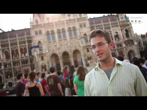 AIT students about Budapest