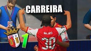 MODO CARREIRA #1 - SC BRAGA CHÉGUEI !!