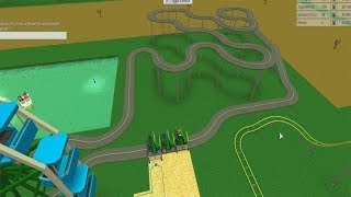 ROBLOX: I MADE A TROLLEYS CIRCUIT IN MY AMUSEMENT PARK! (Theme Park Tycoon 2)