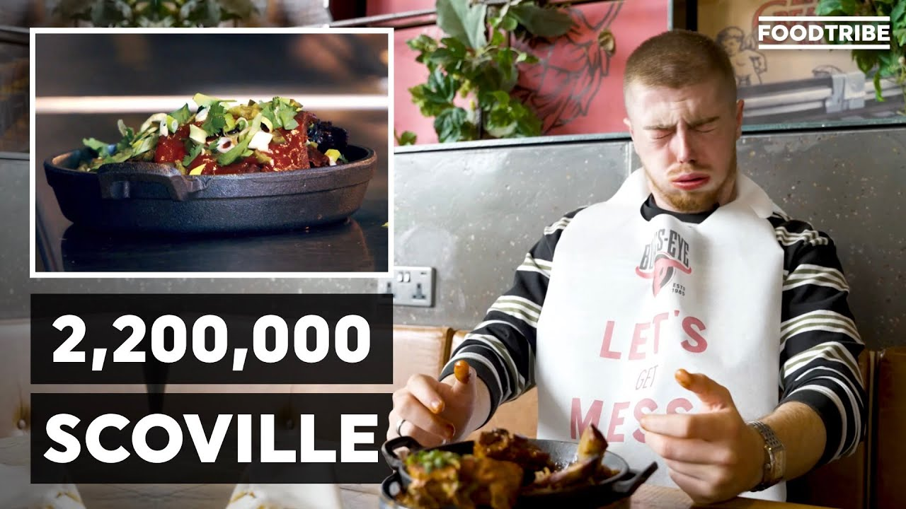 We tried the HOTTEST ribs in the world!