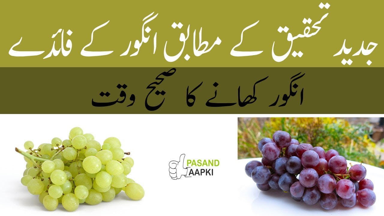 grapes : grapefruit : benefits of grapes full informatiom in urdu with Dr Khurram:Pasand Aapki