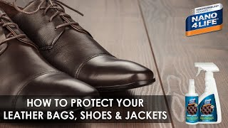 How to protect your Leather | Nano4-Leather | By NANO4LIFE