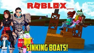 Roblox: OUR BOATS KEEP SINKING (Build a Boat for Treasure minigame)